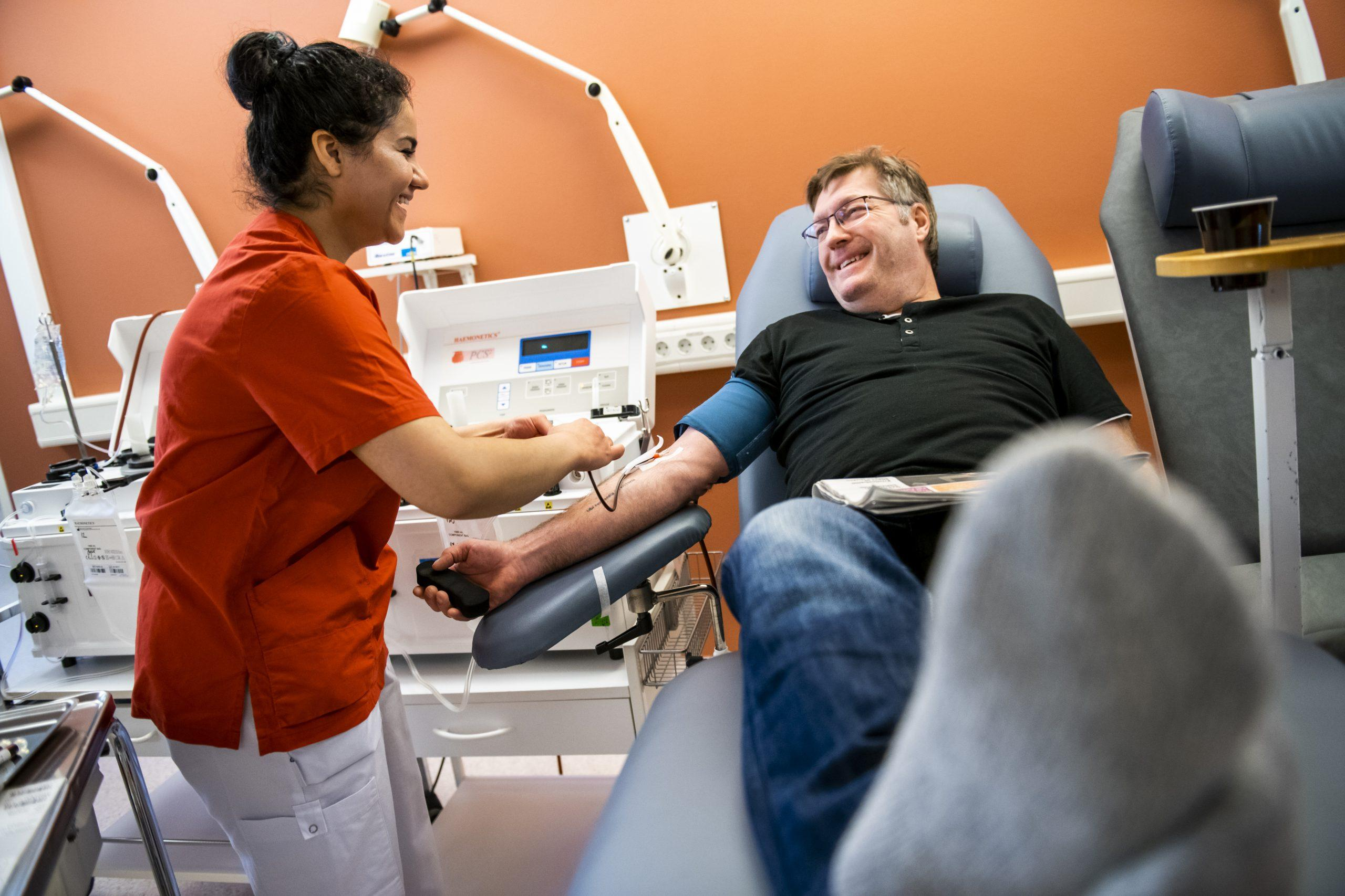 Bli blodgivare och rädda liv
